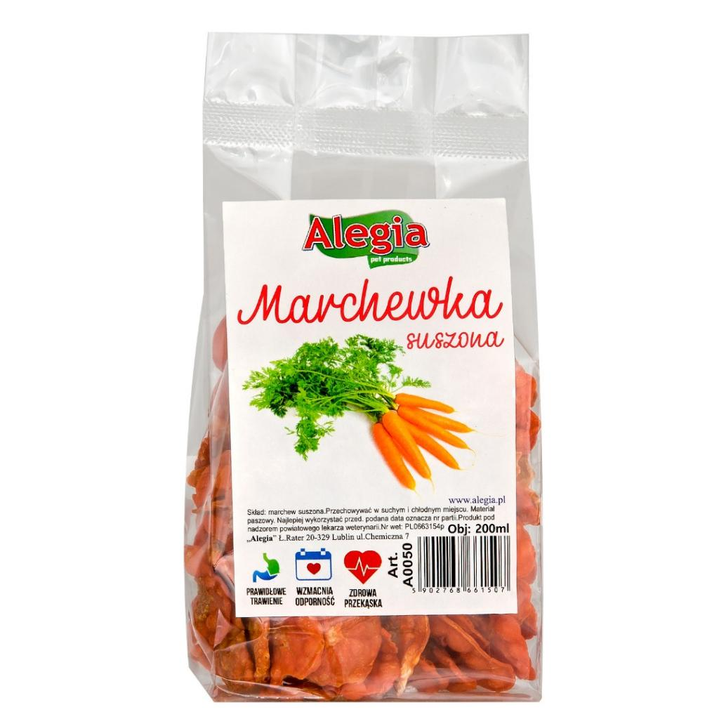 Marchew suszona chips 60g