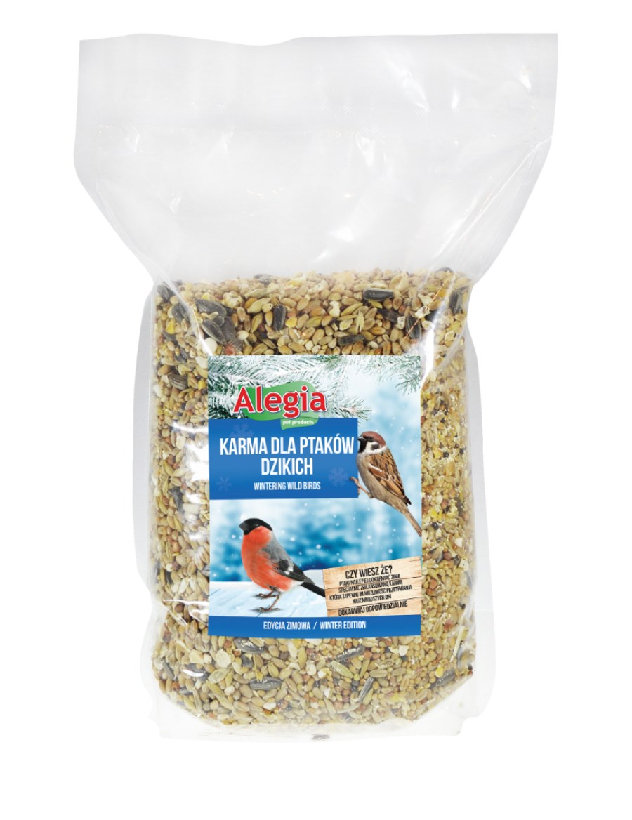 Pokarm Ptaki Dzikie 1/3/15 kg Alegia