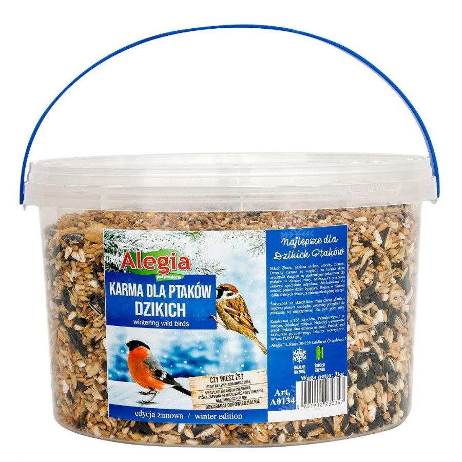 Pokarm dla Ptaków dzikich 3000ml Alegia