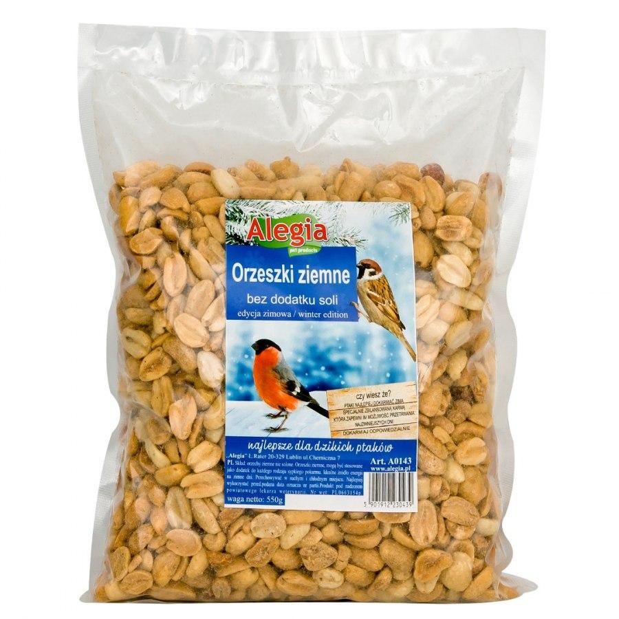 Orzeszki ziemne 550g Alegia dla ptaków