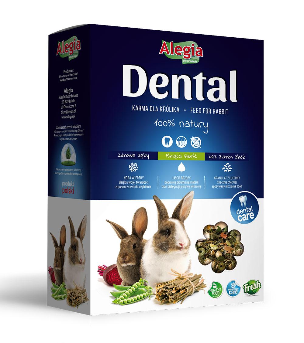 Karma Dental Królik 300g Alegia