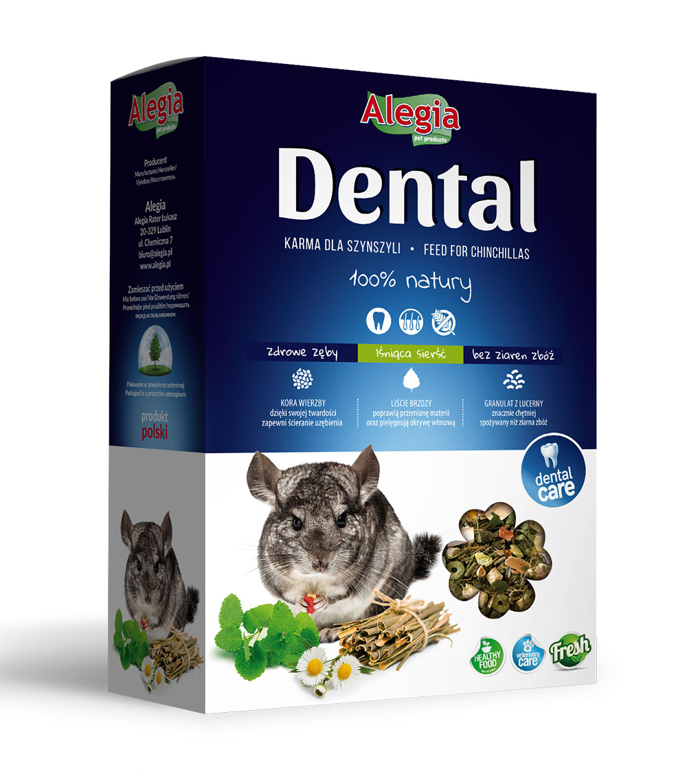 Dental Szynszyla 300g Alegia