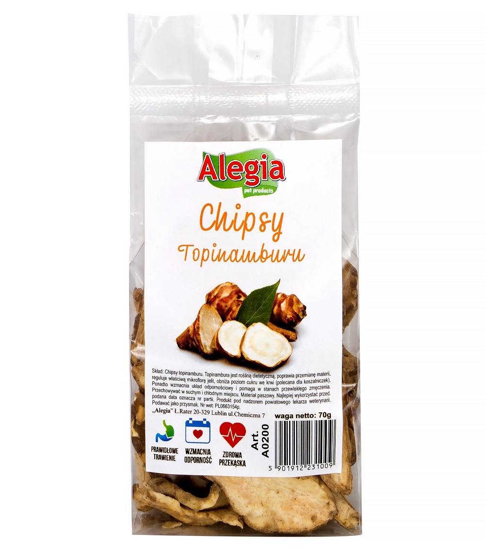 Chipsy Topinamburu 70g