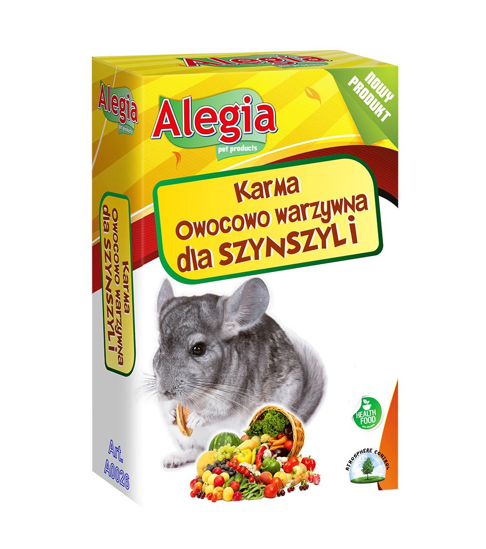 Owoce warzywa Szynszyli 340g Alegia