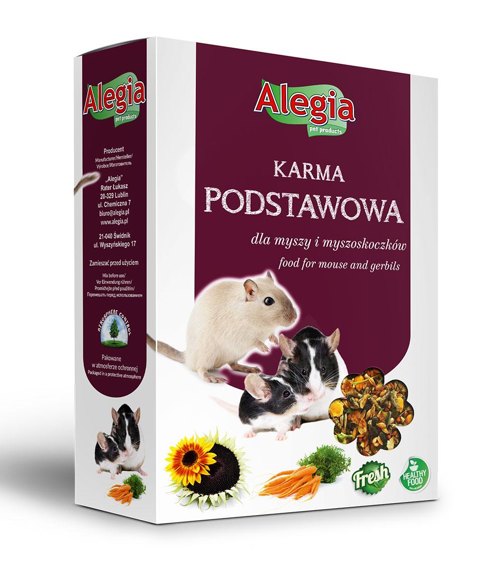 Pokarm Mysz i Myszoskoczek 450g Alegia