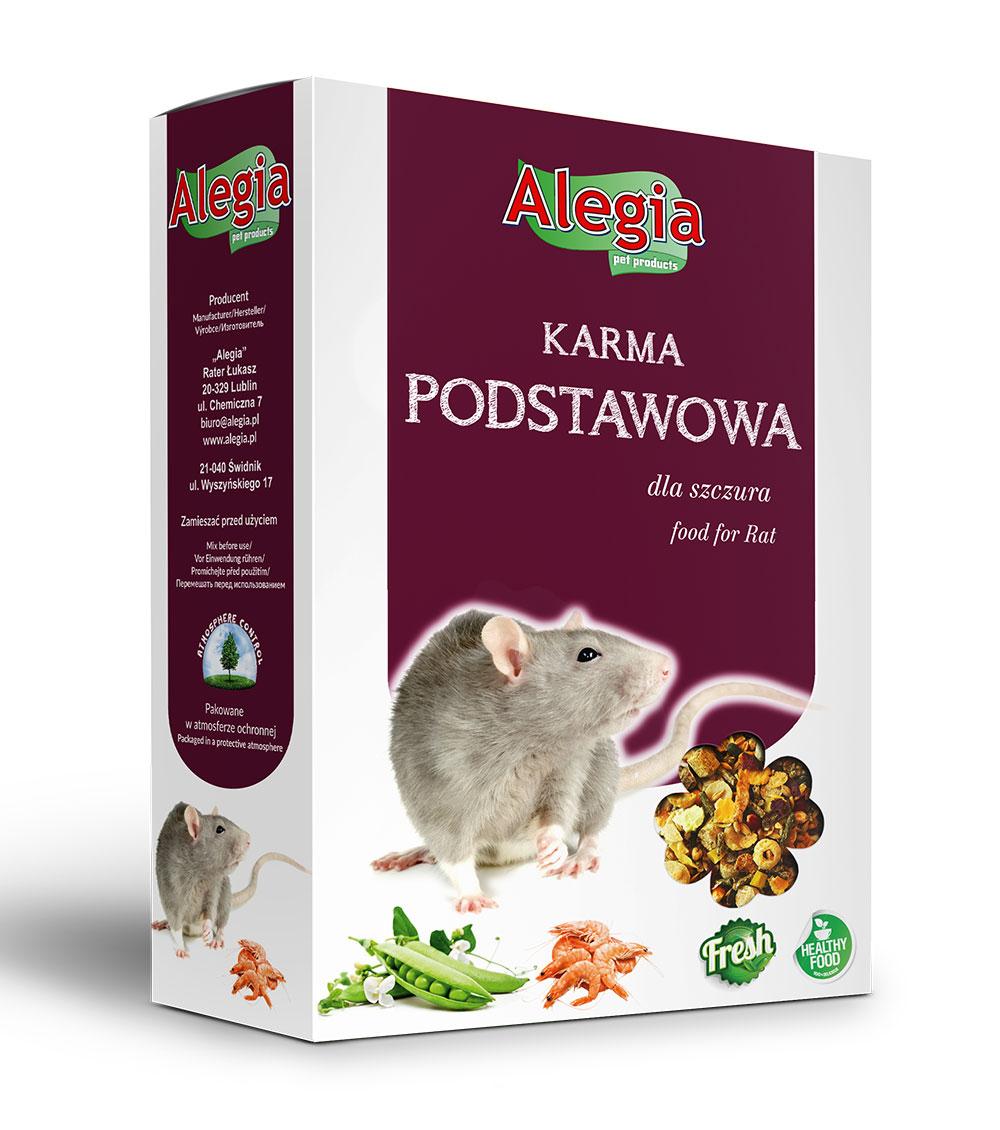Pokarm Szczur 450g Alegia